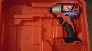 Milwawkee M18 Impact Driver, Bit Driver. New