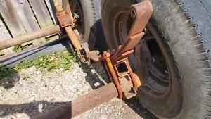 Drop axle