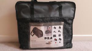 Portable soft style pet carrier