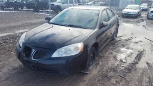 2007 G6  ...JUST IN FOR PARTS AT PIC N SAVE! WELLAND