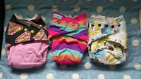 3 Bagshot Row Bamboo brand fitted diapers