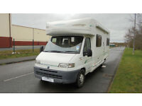 Bessacarr 765e Fixed Rear Bed 4 Berth Motorhome For Sale