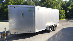 2012 NEO 7' x 18' ALL ALUMNIUM ENCLOSED DRIVE IN/OUT