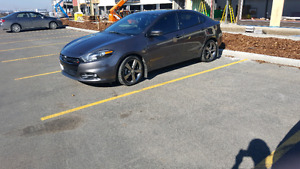 low kms 2015 dodge dart GT
