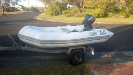 Zodiac inflatable boat with trailer North Richmond Hawkesbury Area Preview