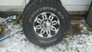 brand new 16 rims and tires