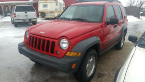 2005 Jeep Liberty Diesel 4x4 New Safety