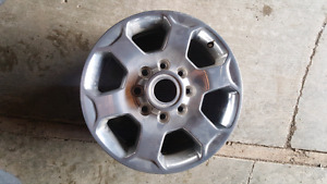 Dodge ram 2500 aluminum wheel