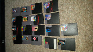 Working Nes system with gun, 2 controls & 18games