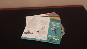 SAFETY BROCHURES POSTERS & DECALS Strathcona County Edmonton Area image 2