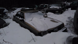 Parting out Audi 5000