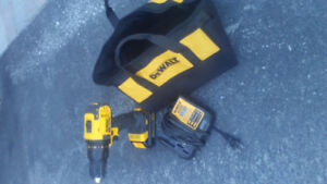 20 volt Dewalt drill plus battery and charger