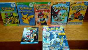 17 Pokémon children's picture & early chapter books