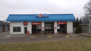 BUSINESS FOR SALE.  OIL /LUBE SHOP OVER 25 YR LOCATION