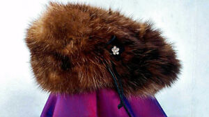 Womens sable hat