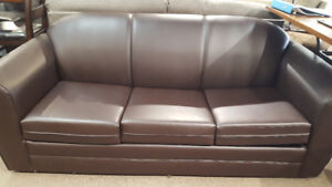 BEAUTIFUL COMPACT DOUBLE SIZE SOFA BED