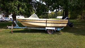 14 ft Pigeon Tri-Hull for Sale