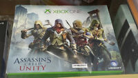Xbox one with kitnect 500gig assasin bundle