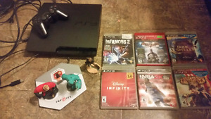 160gb ps3 slim with Disney infinity 3.0 edition