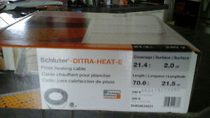 cable chauffant schluter