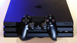 PS4 Pro 1TB and 10+ games