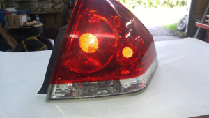 feux tail light impala