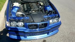 1999 BMW e36 Precision 6266 Turbo
