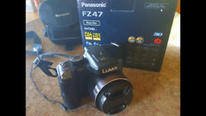 Appareil Photo Lumix FZ47 Full HD + Étuit