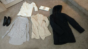 13 pieces of clothing, incl. Nikita jacket worth over $150