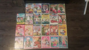 kids dvds-max and ruby,barbie,dora