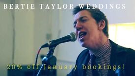 Professional singer and acoustic guitarist for weddings and functions!
