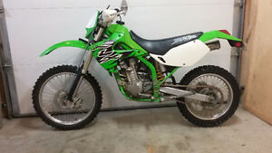 Klx300r great enduro bike plated for road