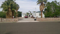 Affordable Yuma Arizona Get Away Mobile home and Lot