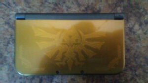Limited edition Zelda new 3DS hardy used with Pokemon moon