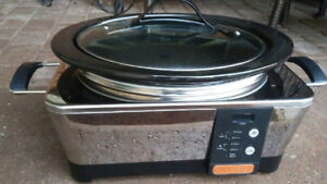 slow cooker, deluxe one,  in excellent condition