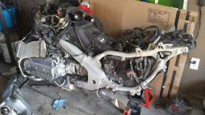 2001 GL 1800 GOLDWING ENGINE AND TRANSMISSION