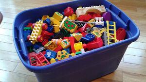 Duplo lego - large box full