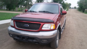 2003 Ford f -150xlt ext cab 4×4 willing to trade for suv