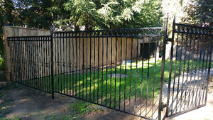 Gates, fences, railings, posts- Custom Metal Fabrication
