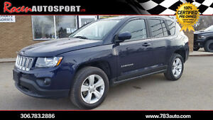 """2014 JEEP COMPASS """"NORTH EDITION"""" 4X4 - LOW KMS - YORKTON"""