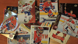 100 DIFFERENT MONTREAL CANADIAN HOCKEY CARDS