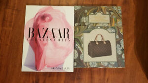 Louis Vuitton and HB Coffee Table Books