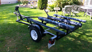 Double pwc trailer for sale