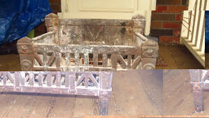 Grate for Fireplace