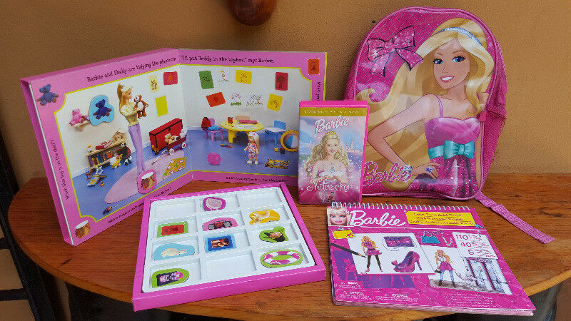 Barbie backpack and 2 books.   Benoni   Gumtree Classifieds South ... 02394cef13