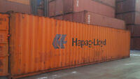 40' and 20' Storage and Shipping Containers - For Sale