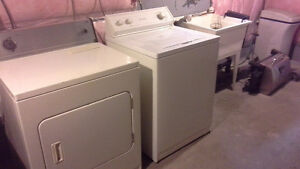 Dryer & washer