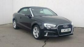 image for 2017 Audi A3 CABRIOLET 1.4 TFSI Sport 2dr Sports petrol Manual