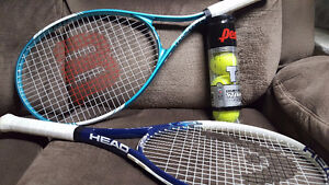 2 New Rackets with Balls included! Tennis Starter Pack