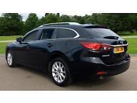 2014 Mazda 6 Tourer 2.2d SE-L Nav 5dr Manual Diesel Estate